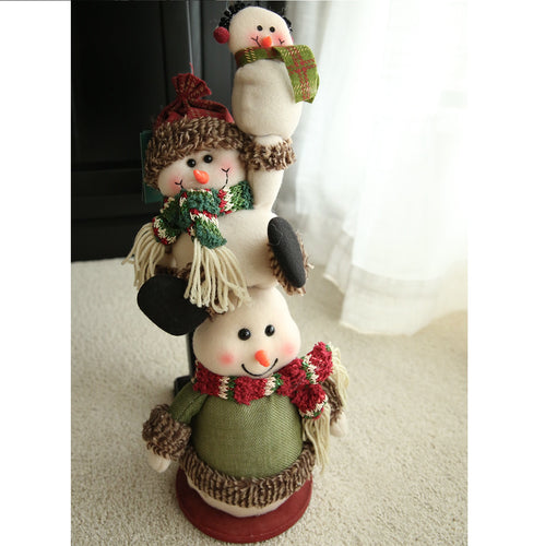 Four little snowmen
