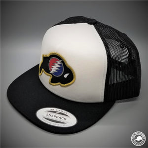 9b18bdc6b14 ... 6506 Retro Trucker Snapback Cap - Patches On Caps. Regular price  25.00  · Dead   Company - Colorado University Ralphie Stealie Woven Patch on -  Yupoong ...