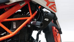 JUEGO SLIDER KTM DUKE 200 (2012 - UP)/ DUKE 390 (2014 - UP)/ DUKE 250/ 390NG (2017 - UP)