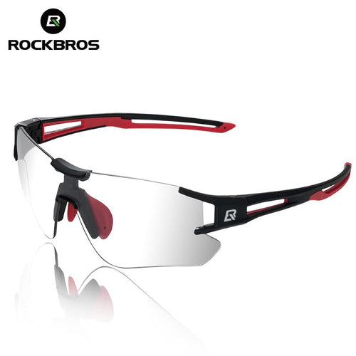 RockBros Frameless Photochromic Cycling Sunglasses