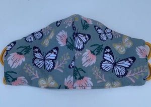 Cloth face mask - BUTTERFLY COLLECTION