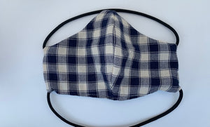 Cloth face mask - PLAID COLLECTION