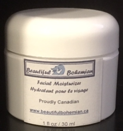 Facial Moisturizer cream by BeautifulBohemian.ca
