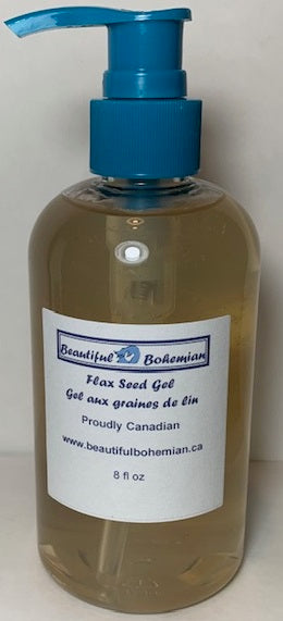 Flax Seed Gel by BeautifulBohemian.ca