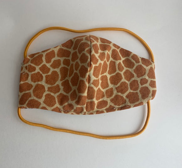 Cloth face mask - GIRAFFE, KIDS EXCLUSIVE