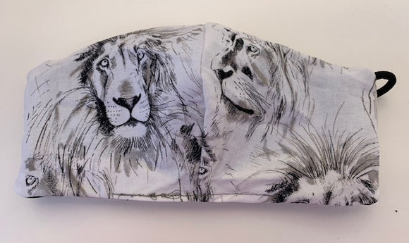 Cloth face mask - LIONS, Limited Edition