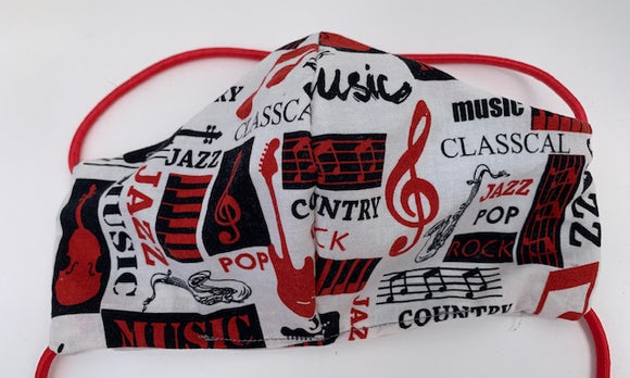 Cloth face mask - MUSIC, Limited Edition