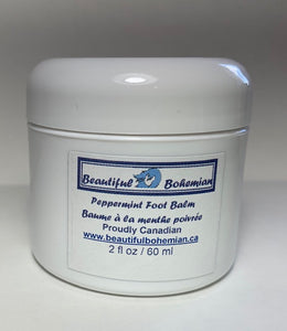 Peppermint Foot Balm by BeautifulBohemian.ca
