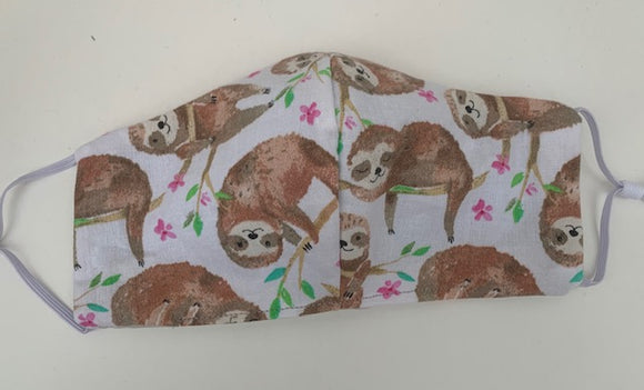 Cloth face mask - SLOTH