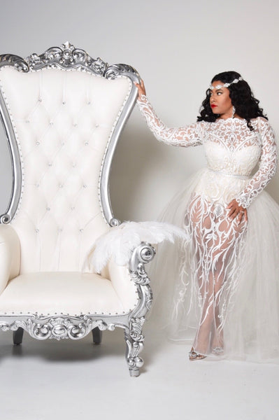 e.t.i.a by Trineka Tucker nails Lebanese dress designer, Zuhair Murad Inspired Wedding Gown...
