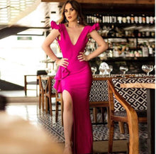Load image into Gallery viewer, Blushing Diva Bandage Maxi Dress