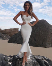 Load image into Gallery viewer, Blissfully Yours Mermaid Bandange Midi Dress