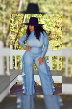 Load image into Gallery viewer, Snakeskin Jumpsuit (Plus Size Available)