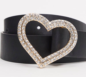 Heart Buckled Belt