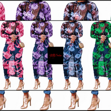 Load image into Gallery viewer, Floral Sheer Multi-Use Dress - Plus Size Available