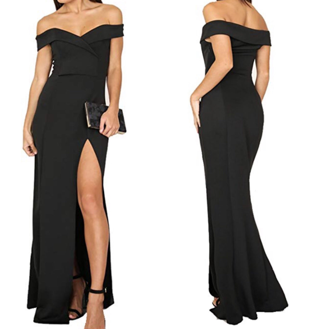 Say Yes Maxi Fishtail Dress
