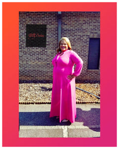 Great is Thy Faithfulness Maxi Dress (Plus Size)