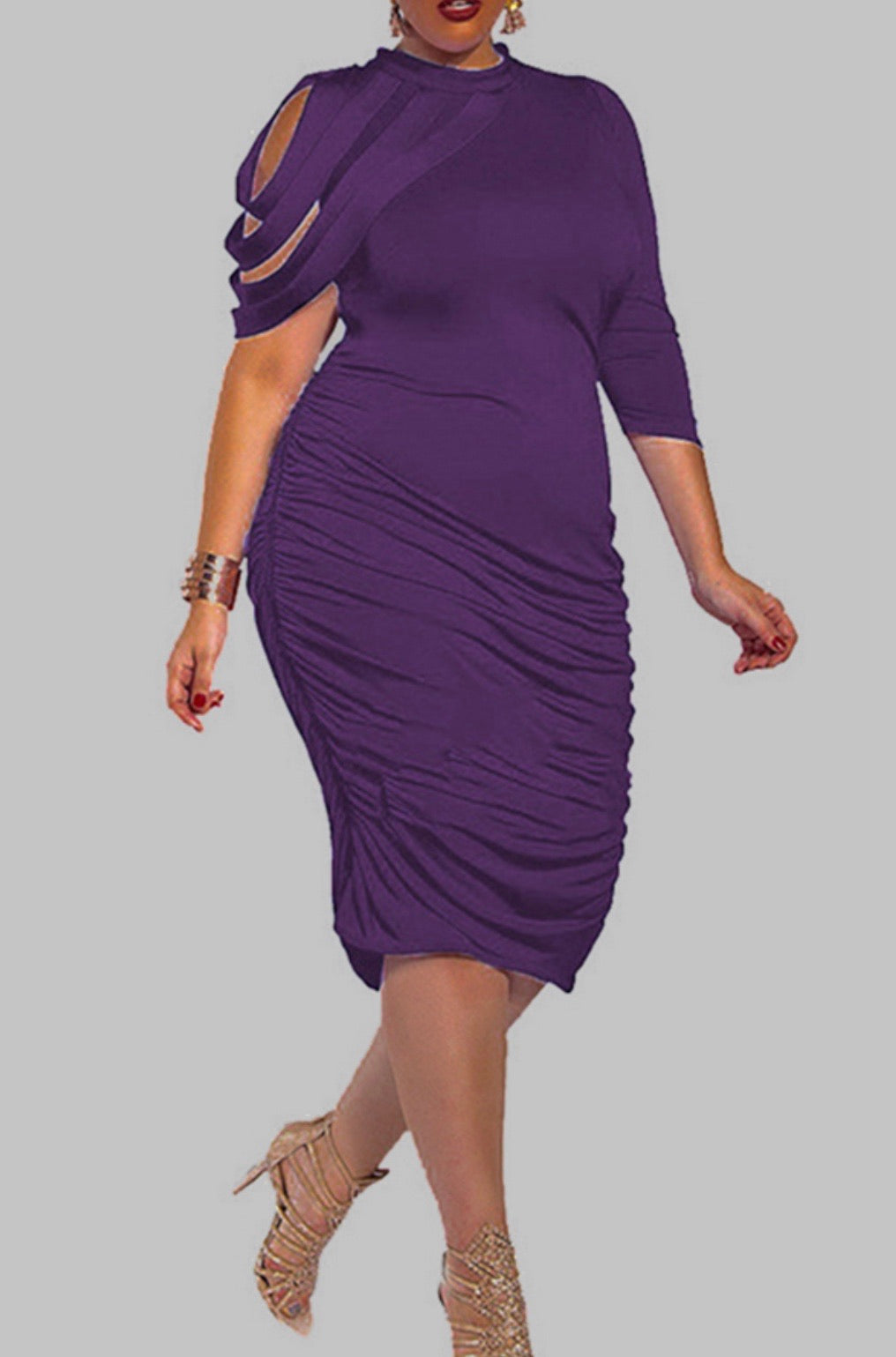 Regal Midi (Plus Size Only)