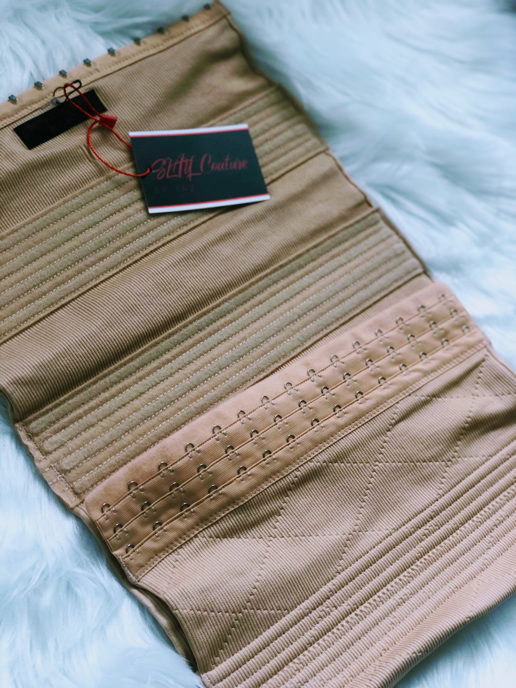 SNATCHED Nude Waist Cincher