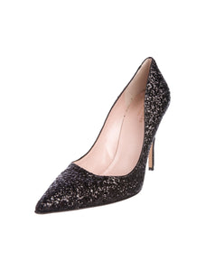 Kate Spade Glitter Pump - Gently Used - Size 9 (39)