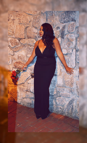 Mi Amour Black Gown