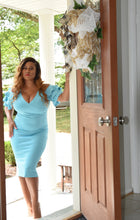 Load image into Gallery viewer, She is Fearless Midi Dress (Plus Size Available)