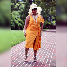Load image into Gallery viewer, Ace of Hearts Queen Wrap Midi (Plus Size Available)