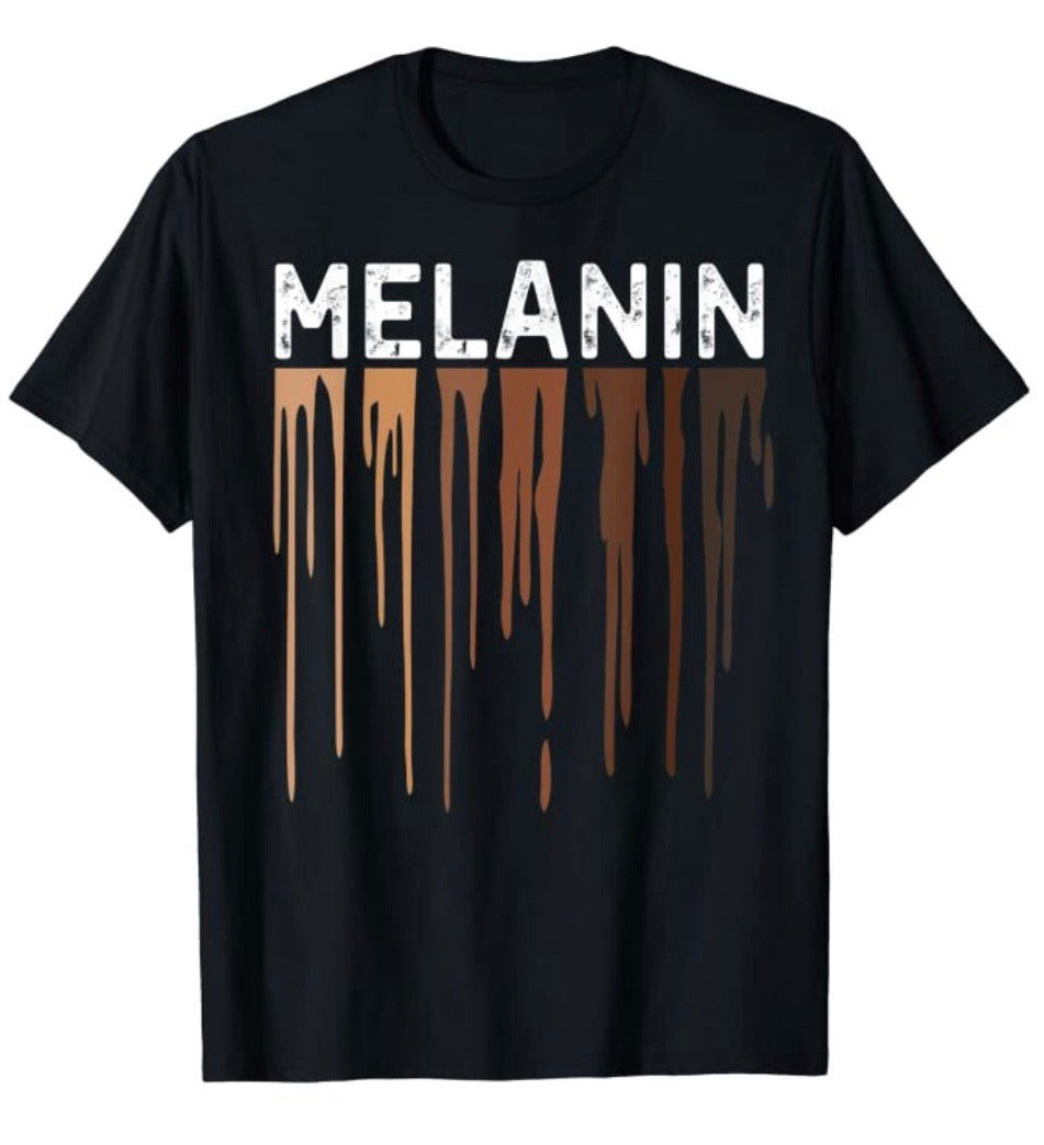 Unisex Melanin Tee - Plus Size Available
