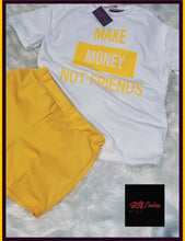 Load image into Gallery viewer, Athleisure Make Money Not Friends Set - Plus Size Available (Pre-Order)