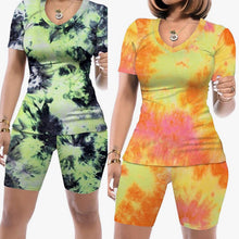 Load image into Gallery viewer, Tye Dye Short Sets III (Plus Size Available)
