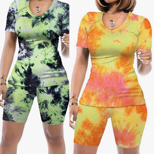 Tye Dye Short Sets III (Plus Size Available)