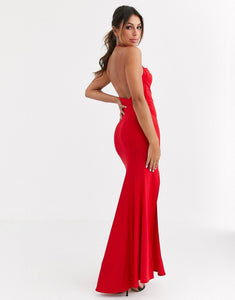 Red Classic Maxi (Plus Size Available)