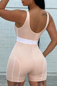 Athleisure So Real Romper (Pre-Order)