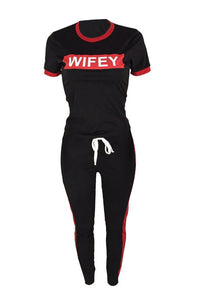 Athleisure Wifey Matching Set - Plus Size Available (Pre-Order)
