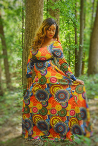 She is Courageous Maxi Dress (Plus Size Available)