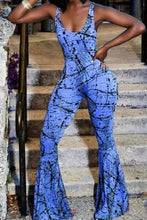 Load image into Gallery viewer, Paint the City Bell Bottom Jumpsuit