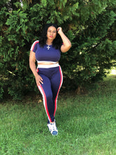 Load image into Gallery viewer, Athleisure 2pc Track Set - Plus Size Available