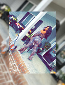 Jaguar Jumpsuit (Plus Size Available)