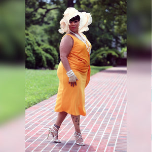 Ace of Hearts Queen Wrap Midi (Plus Size Available)