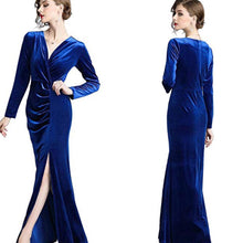 Load image into Gallery viewer, Prosperity Velvet Maci Dress