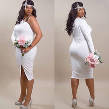 Load image into Gallery viewer, Forever My Lady One Sleeve Bodycon (Plus Size)