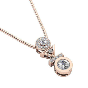 Natural Round Cut Pendants-DP403