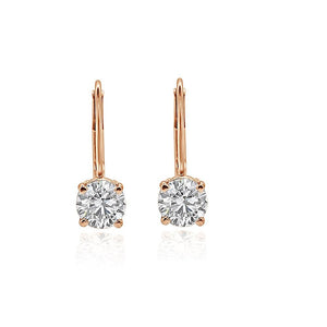 Prong Setting Earrings-DST88
