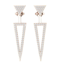 Load image into Gallery viewer, Prong Set 14K-18k Gold Studs Earring-E-780-2