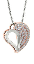 Load image into Gallery viewer, Heart Shape Prong Set Pendant