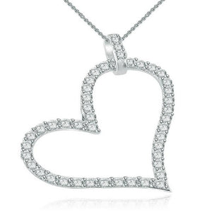 Heart Shape Pendants-P-403