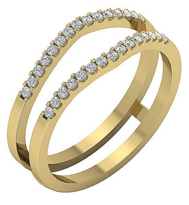 StackableYellowGold14KDiamondRing-DWR359