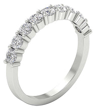 Load image into Gallery viewer, NaturalDiamondWedding14KWhiteGold-DWR366