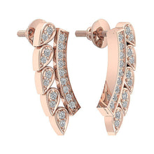 Load image into Gallery viewer, 14K Rose Gold Earring-DE207