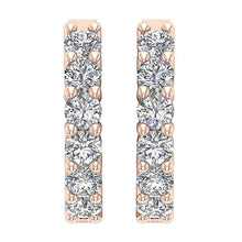 Load image into Gallery viewer, Large Hoops 14K Rose Gold Earring-E-404A